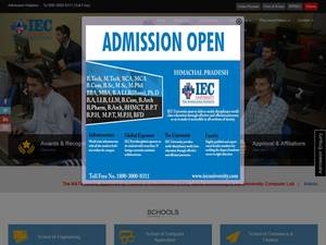 IEC University Screenshot