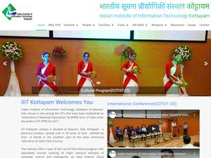 Indian Institute of Information Technology, Kottayam Screenshot