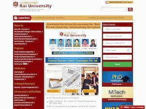 Jharkhand Rai University Screenshot