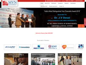MVN University Screenshot