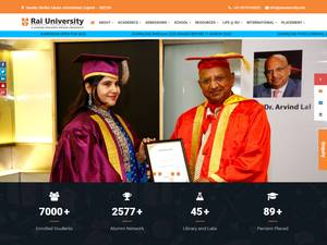 Rai University Screenshot