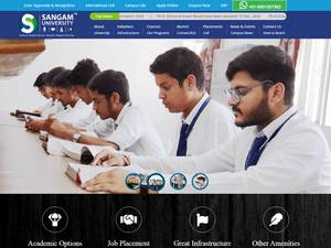 Sangam University Screenshot
