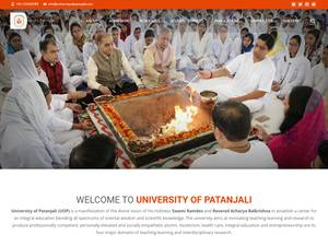 University of Patanjali Screenshot