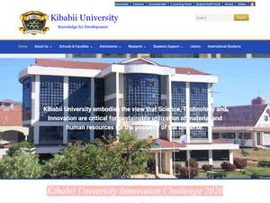 Kibabii University Screenshot