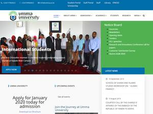 Umma University Screenshot