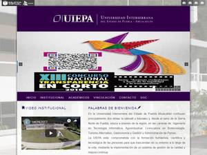Universidad Interserrana del Estado de Puebla Ahuacatlán Screenshot