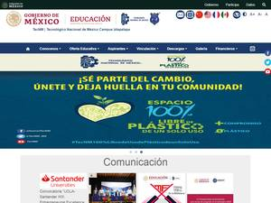 Instituto Tecnológico de Iztapalapa's Website Screenshot