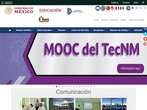 Instituto Tecnologico de la Chontalpa's Website Screenshot