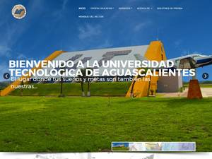 Technological University of Aguascalientes Screenshot