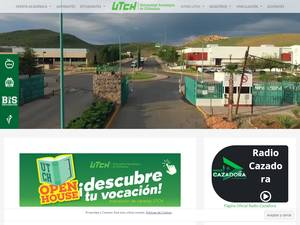 Universidad Tecnológica de Chihuahua's Website Screenshot
