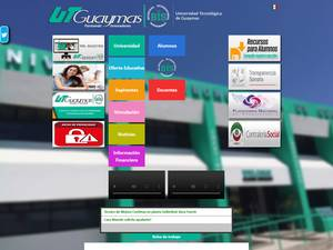 Universidad Tecnológica de Guaymas's Website Screenshot