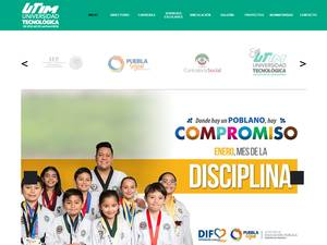 Universidad Tecnológica de Izúcar de Matamoros's Website Screenshot
