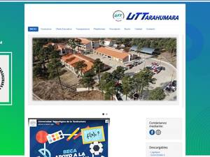 Universidad Tecnológica de la Tarahumara Screenshot