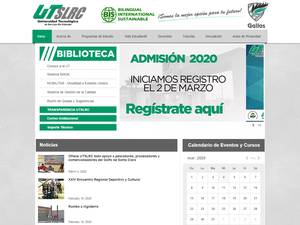 Universidad Tecnológica de San Luis Río Colorado's Website Screenshot
