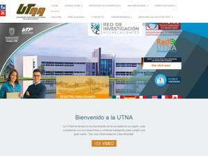 Universidad Tecnológica del Norte de Aguascalientes's Website Screenshot