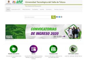 Technological University of Toluca Valley Screenshot