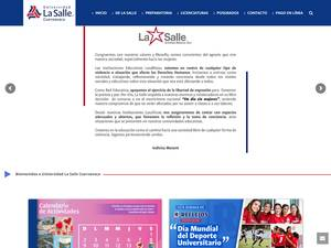 Universidad La Salle Cuernavaca's Website Screenshot