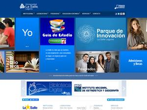 Universidad La Salle Laguna's Website Screenshot