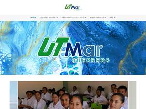 Universidad Tecnológica del Mar del Estado de Guerrero's Website Screenshot