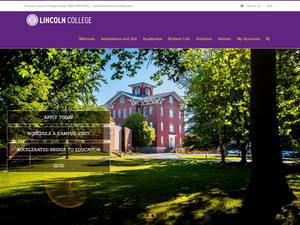 Lincoln College Screenshot