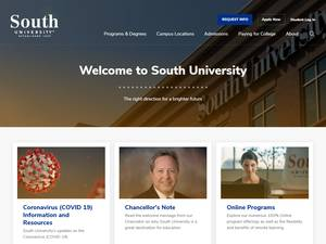South University Screenshot
