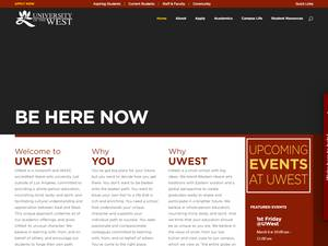 University of the West Screenshot