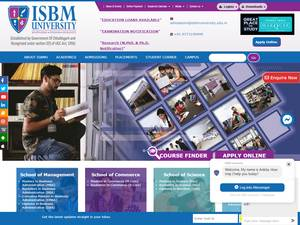 ISBM University Screenshot