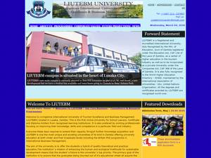 Livingstone International University of Tourism Excellence and Business Management Screenshot