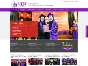 University of Technology & Management Screenshot