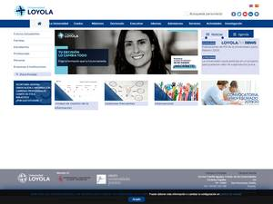 Loyola University Andalusia Screenshot