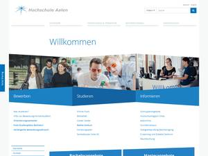 Hochschule Aalen's Website Screenshot