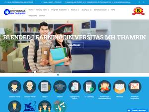 Mohammad Husni Thamrin University Screenshot