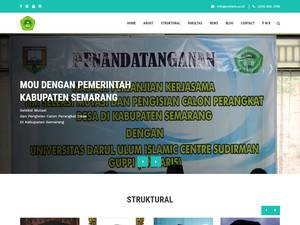 Universitas Darul Ulum Islamic Centre Sudirman's Website Screenshot