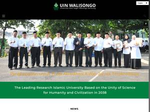 Universitas Islam Negeri Walisongo Screenshot