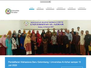 Al-azhar University of Medan Screenshot