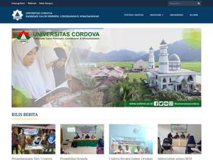 Cordova University Screenshot