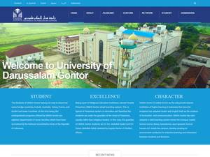 University of Darussalam Gontor Screenshot