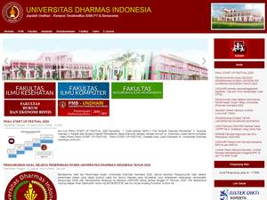 Universitas Dharmas Indonesia Screenshot