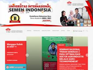 Universitas Internasional Semen Indonesia Screenshot