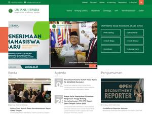 Universitas Islam Nahdlatul Ulama Screenshot