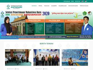 Universitas Islam Negeri Antasari Screenshot