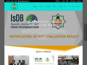 Universitas Islam Negeri Mataram's Website Screenshot