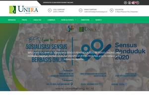 Universitas Islam Raden Rahmat Screenshot