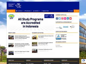 International University Liaison Indonesia Screenshot