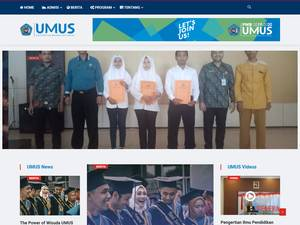 Muhadi Setiabudi University Screenshot