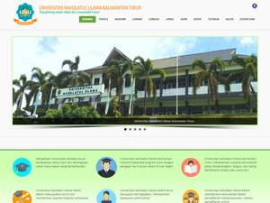 Nahdlatul Ulama University of East Kalimantan Screenshot