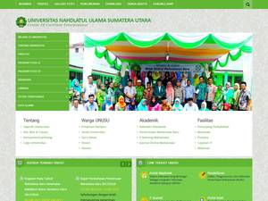 Universitas Nahdlatul Ulama Sumatera Utara Screenshot