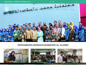 Universitas Nahdlatul Ulama Surabaya Screenshot