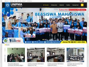 Universitas PGRI Madiun's Website Screenshot