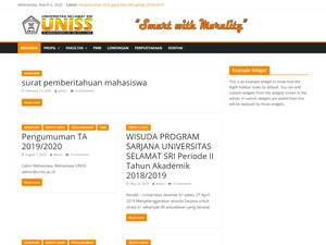 Universitas Selamat Sri Screenshot